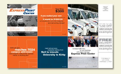Graphic Design - Express Print Center Mailer